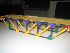K'NEX bridge